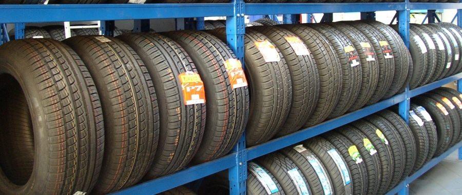 1. Scaffalatura porta pneumatici