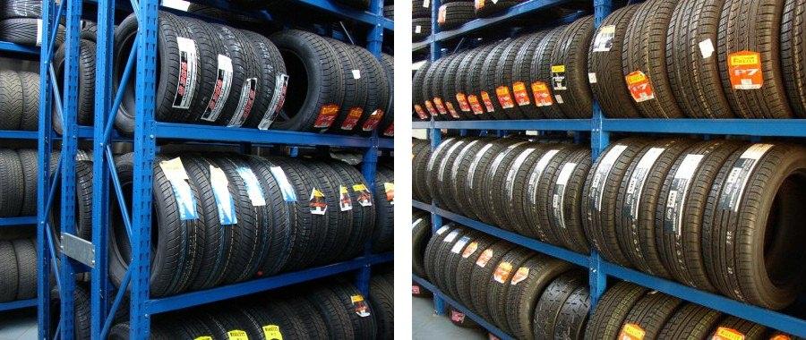 2. Scaffalature E60 ideali per sistemare alla perfezione gli pneumatici