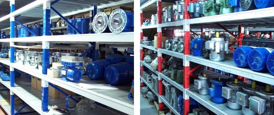 3. La portata massima del nostro scaffale industriale E60 è di 2400 kg per livello di carico