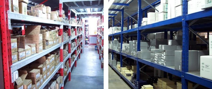 4. Scaffali industriali media portata modello E60