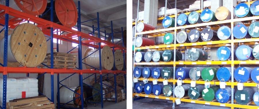 6. Scaffalature industriali progettate per soddisfare esigenze particolari